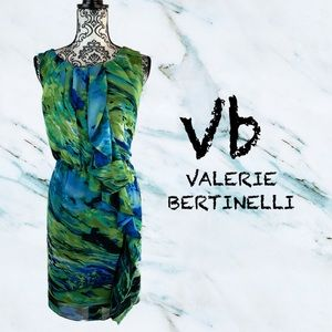 Vb bluish green sleeveless dress sz 12